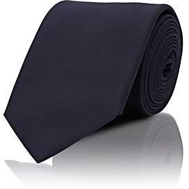 Lanvin Men's Silk Shantung Necktie - Navy