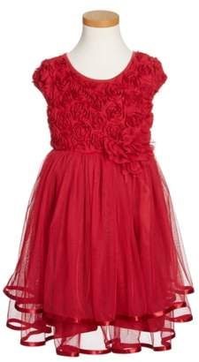 Popatu Ribbon Rosette Tulle Dress