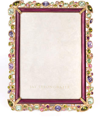 Jay Strongwater Leslie Bejeweled Picture Frame 5 x 7