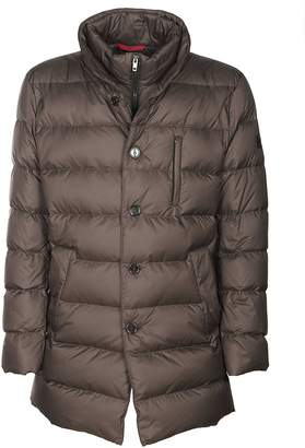 Fay Single Breasted Padded Coat