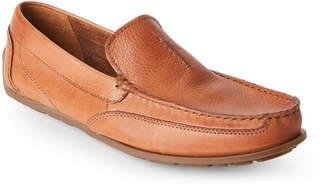 Clarks Tan Benero Race Moc Toe Loafers