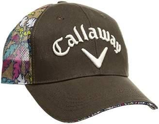 Callaway (キャロウェイ) - (キャロウェイ アパレル)Callaway Apparel [ メンズ] 速乾 キャップ (サイズ調整) / 241-8184520 / 帽子 ゴルフ 241-8184520 120 120_ネイビー FR
