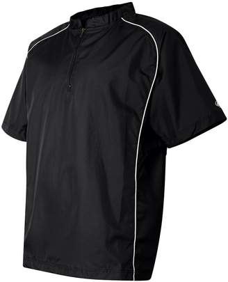 Rawlings Sports Accessories Short Sleeve Quarter-Zip Pullover Windshirt - 9702