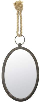 STONEBRIAR COLLECTION Oval Nautical Wall Mirror
