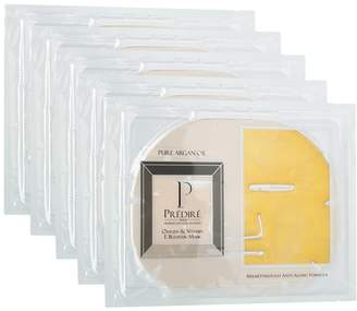 Predire Paris Luxury Skincare Oxygen & Vitamin E Booster Facial Treatment Mask (5 Pack)