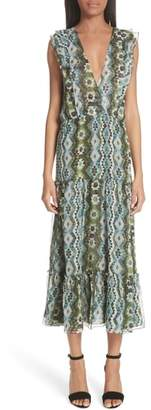 Altuzarra Jorma Print Silk Dress