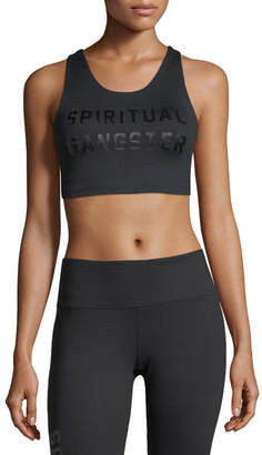 Spiritual Gangster Collegiate Tech Performance Sports Bra