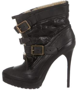 Burberry Shearling Ankle Boot