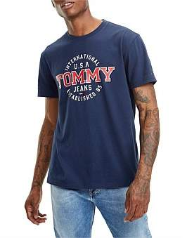 Tommy Jeans Tjm Circular Tee