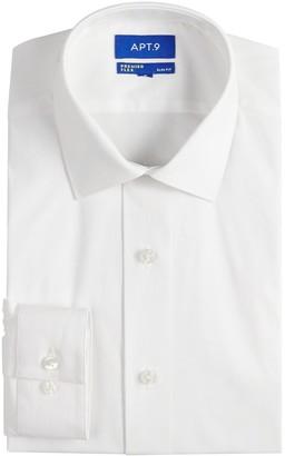 Apt. 9 Men's Extra Slim-Fit Stretch Cut-Away Collar Dress Shirt