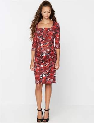 Isabella Oliver Floral Maternity Dress