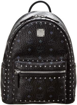 MCM Stark Small Studded Visetos Backpack