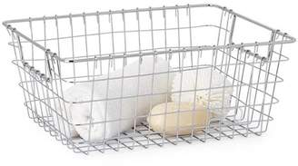 Torre & Tagus Chrome Wire Basket