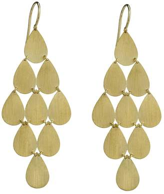 Irene Neuwirth Signature Large Teardrop Chandelier Earrings - Yellow Gold