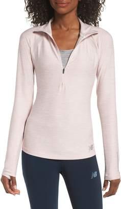 New Balance Anticipate Half Zip Pullover