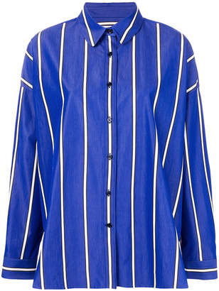 Odeeh striped oversized shirt