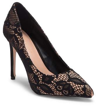 BCBGeneration Heidi Black Lace Pump