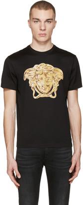 Versace Black Medusa Statue T-Shirt $360 thestylecure.com
