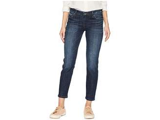KUT from the Kloth Catherine Ankle Straight Leg Jeans in Intensity