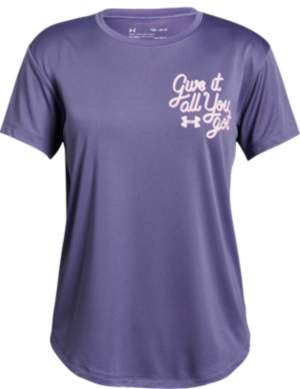Under Armour Big Girls Give It All T-shirt