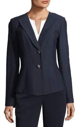 St. John Hannah Knit Suiting Jacket