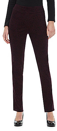 Westbound Petites PARK AVE fit Printed Pull-On Pants