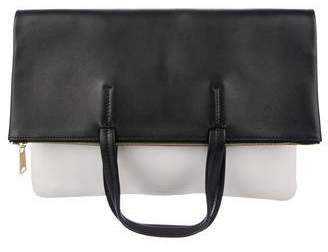 Celine Leather Fold-Over Cabas