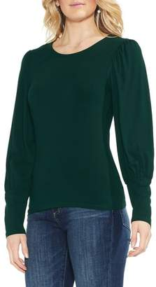 Vince Camuto Long Puff Sleeve Top