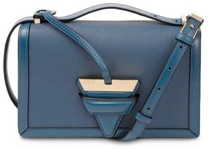 Barcelona Bag in Indigo Soft Grained Calfskin Loewe Hd4ZxMkqUI
