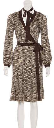 Missoni Patterned Wrap Dress