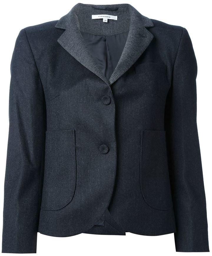Carven pinstripe blazer