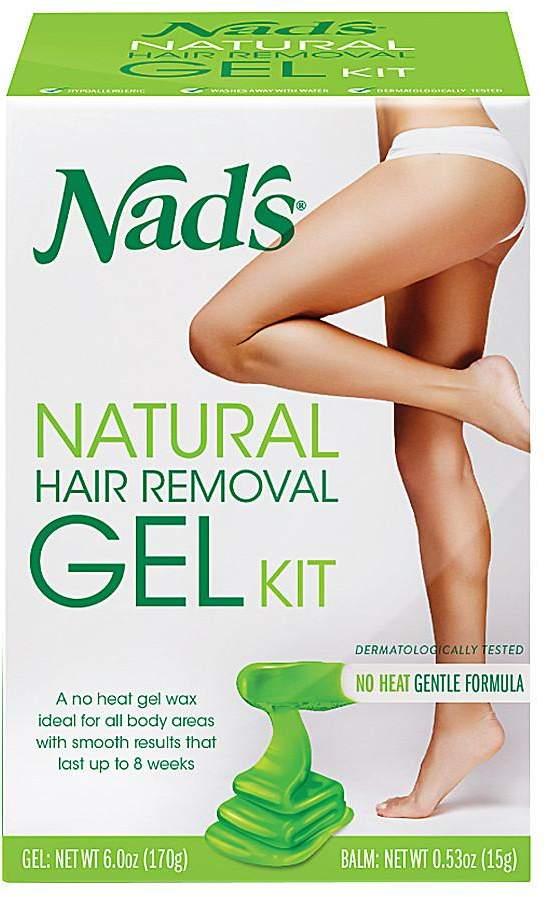 Nad's Natural Hair Remover Gel Kit