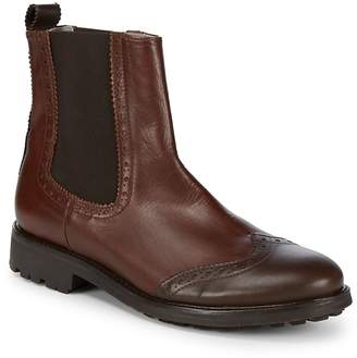 Canali Men's Leather Ankle Boots