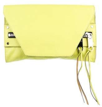 Milly Leather Avril Clutch
