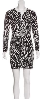 Diane von Furstenberg Reina Animal Print Dress w/ Tags