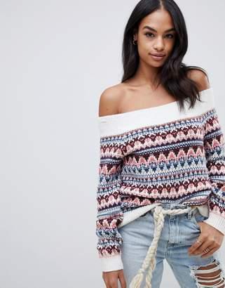 Abercrombie & Fitch fairisle sweater