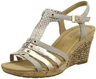 Gabor Shoes Women's Comfort Wedge Heels Sandals