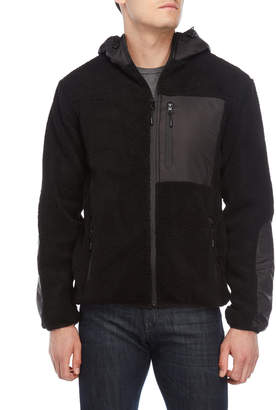 Bellfield Black Custer Hooded Jacket