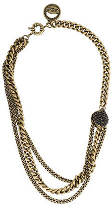 Giles & Brother Multistrand Curb Chain Necklace $95 thestylecure.com