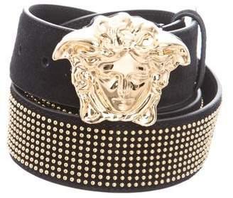Versace Embellished Medusa Belt w/ Tags