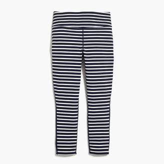 J.Crew New Balance® for high-waisted performance capri leggings in stripe with mesh