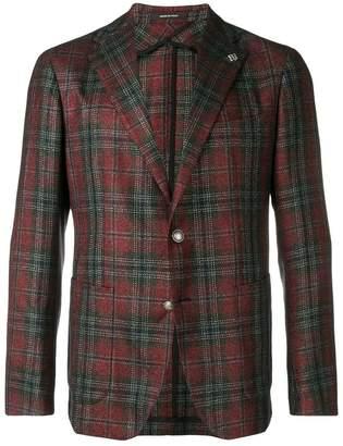 Tagliatore Montecarlo checked blazer