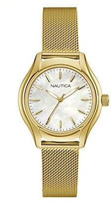 Nautica (ノーティカ) - ノーティカWomen 's ' NCT 18 Mid ' QuartzステンレススチールCasual Watch , Color : silver-toned (モデル: nad12546l )