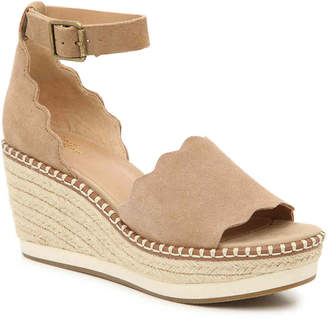 Crown Vintage Daffodil Espadrille Wedge Sandal - Women's