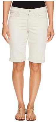 NYDJ Petite Petite Briella Roll Cuff Shorts in Clay Women's Shorts