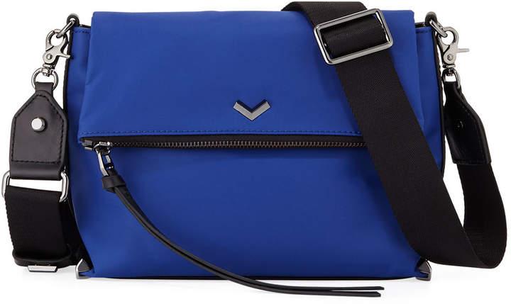 Botkier Mayfair Nylon Crossbody Bag, Blue
