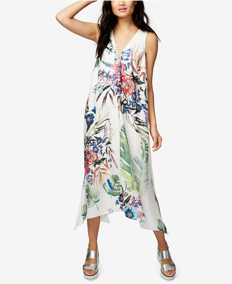 RACHEL Rachel Roy Printed Contrast Dress, Only at Macy's $129 thestylecure.com