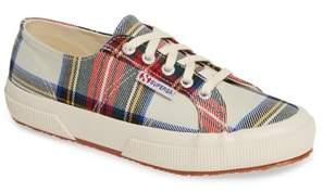 Superga Tartan Print Sneaker