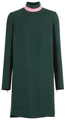 Burberry Zoya Two-Tone Shift Dress