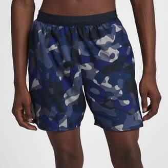 "Nike Distance Men's 7"" Camo Running Shorts"